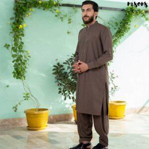 Light Brown – Shalwar Kameez