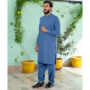 Light Blue – Shalwar Kameez