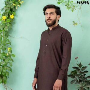 Dark Brown – Shalwar Kameez