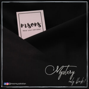 Mystery- only black