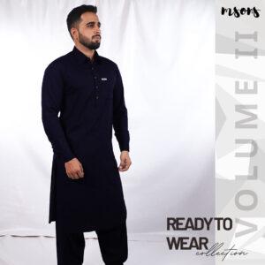 Navy Blue – Ready To Wear – Volume II