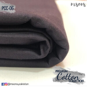 Dark Purple Premium Cotton