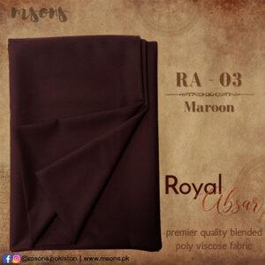 Maroon Royal Absar
