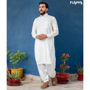 Off White Premium Shalwar Kameez