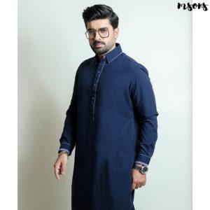 Navy Blue Designer Wear