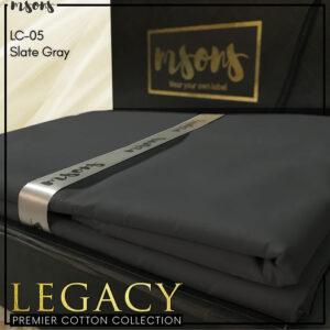 Slate Gray – Legacy Cotton
