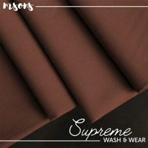 Wood Brown Supreme Wash & Wear