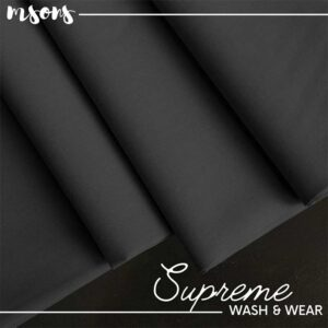 Blackish Grey Supreme Wash & Wear