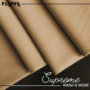 Light Brown Supreme Wash & Wear