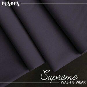 Dark Purple Supreme Wash & Wear